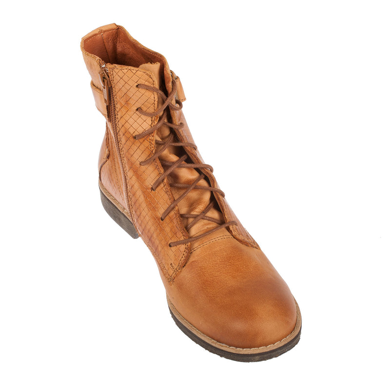Women's Mazzly Leather Lace Up Ankle Boot