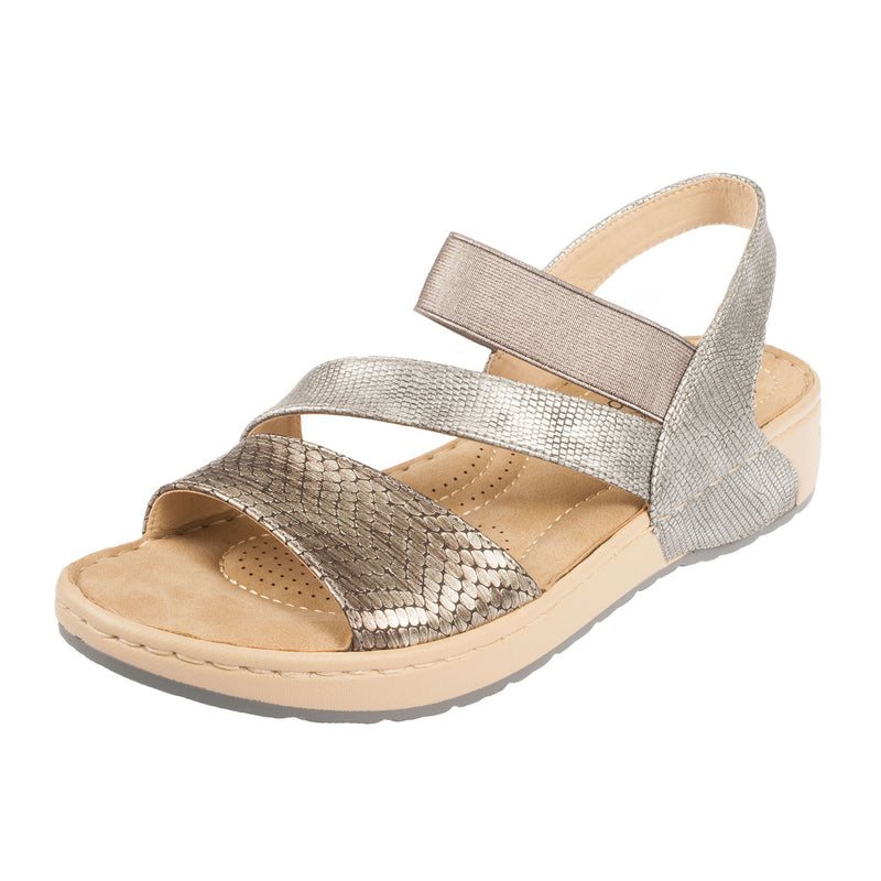 Women's Leather Strappy Sandal