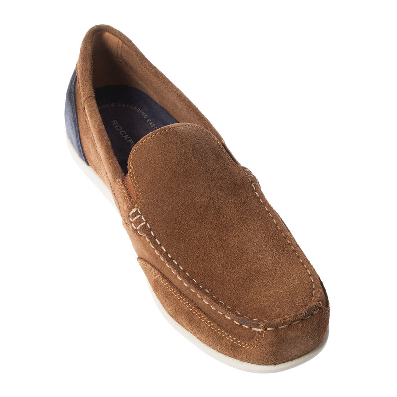 ROCKPORT Men's Genuine Suede Venetian Slipper