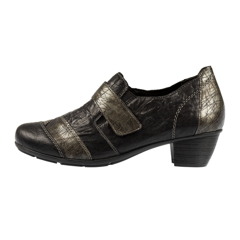 Women's Leather Heel Shoe