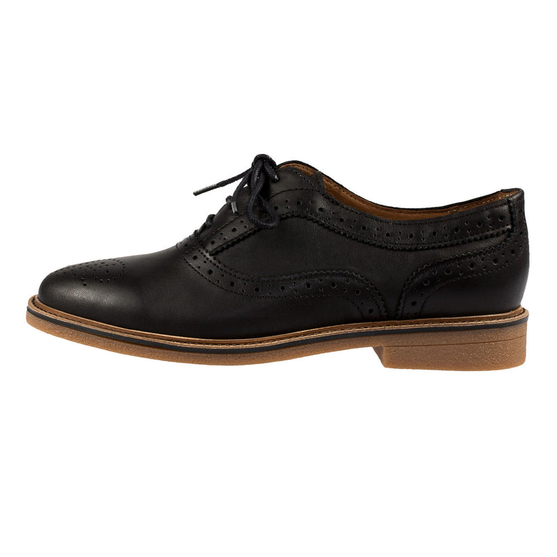 TBS Women's BILICE Leather Brogue Lace Up Shoe