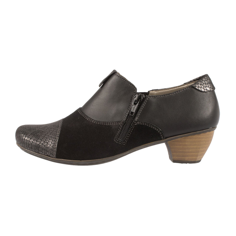 Women's Leather Slip On