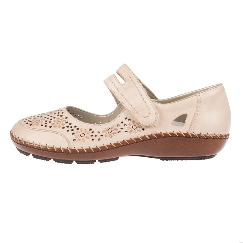 Women's 44875-60 Leather Mary Jane Shoes