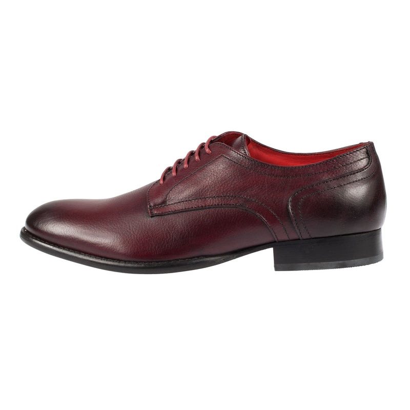 BASE LONDON Men's Ford Grain Leather Lace Up Oxford Shoe (SA01531)
