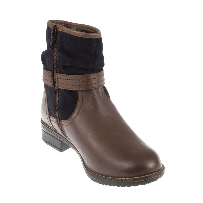Women's Synthetic Zip Ankle Boot
