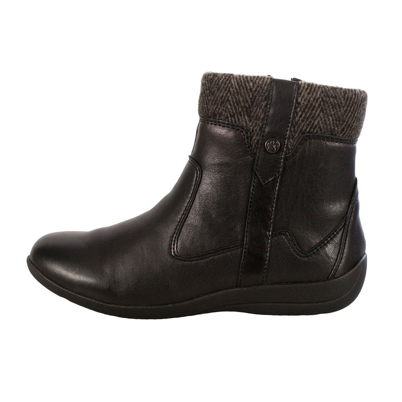 Women's Crofton Leather/Textile Zip Ankle Boot