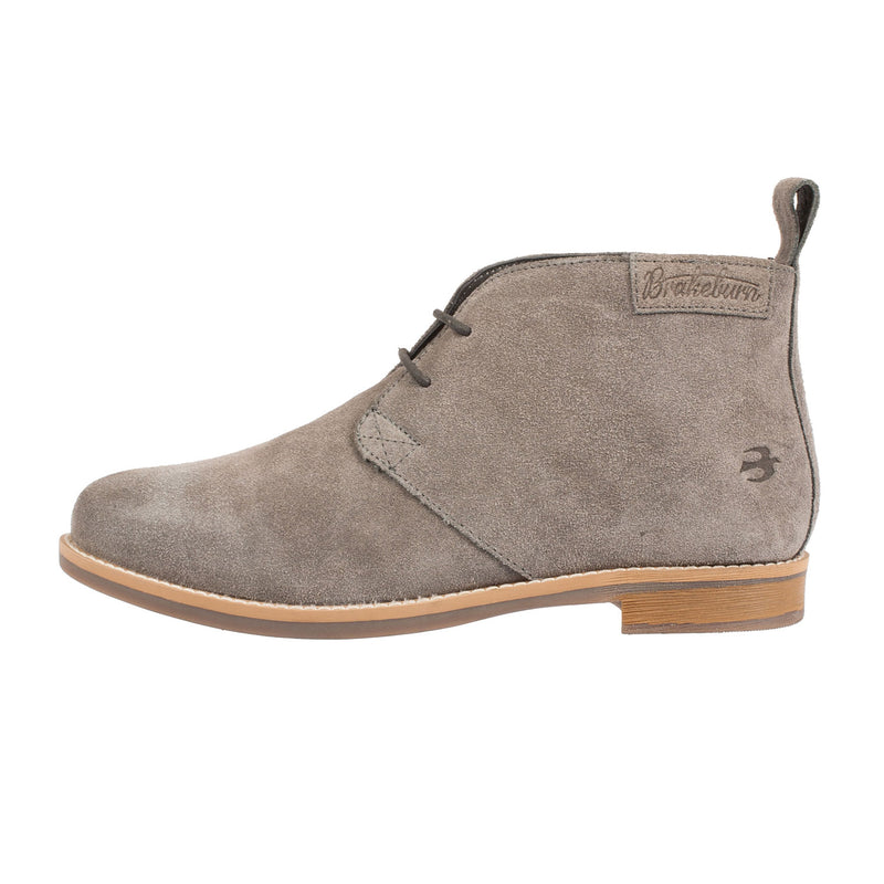 BRAKEBURN Women's Nubuck Chukka Lace Up Ankle Boot