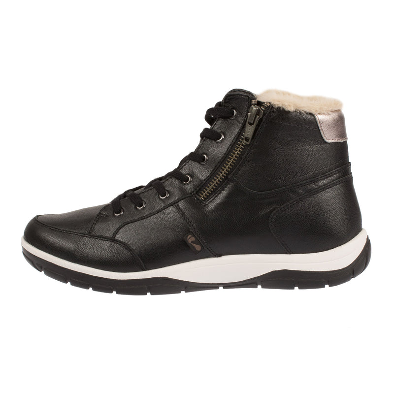 STRIVE Women's Leather CHATSWORTH Ankle Lace Up Sneaker Boot