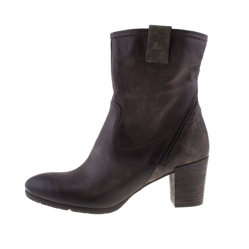 MJUS Women's Rino Taupe Ankle Leather Boot (559207)