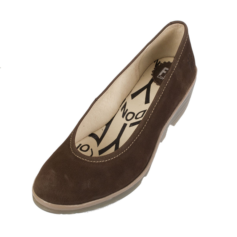 Women's Pump Suede Leather Wedge Shoe