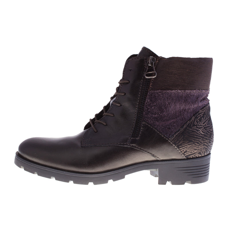 Women's 584204 Leather Ankle Boot