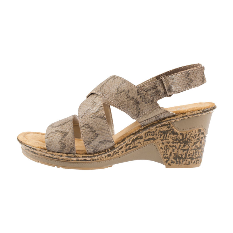 Women's 60659-64 Strapped Sandal