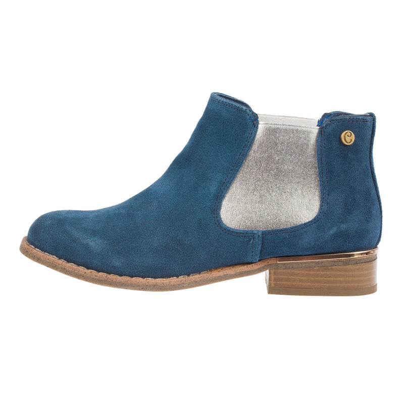 Women's Suede Chelsea Ankle Boot