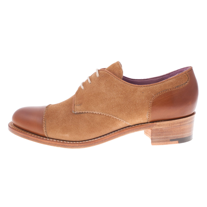 Barker Women's Kate Leather/Suede Oxford Shoe (715336)