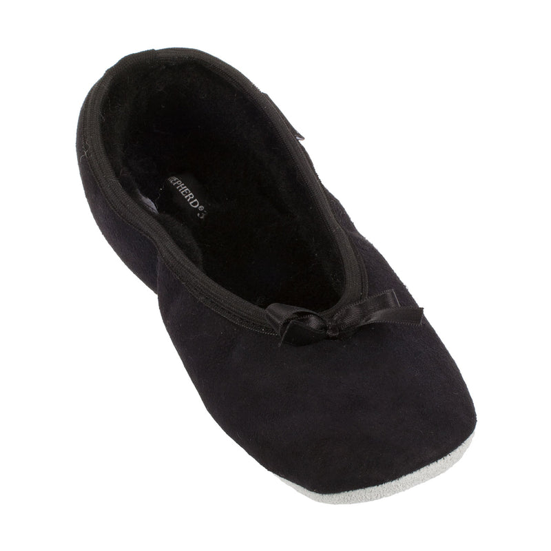 Women's Saga Sheepskin Ballerina Winter Slipper