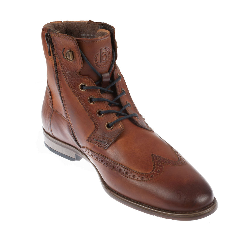 Men's Leather Lace Up Ankle Boot