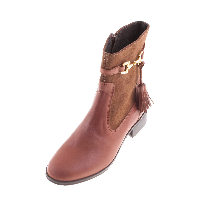 Women's 800 Leather Zip Ankle Boot
