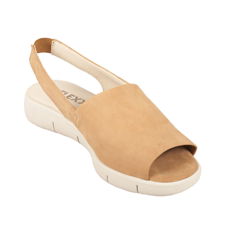 THE FLEXX Women's Easy Row Leather Sandal