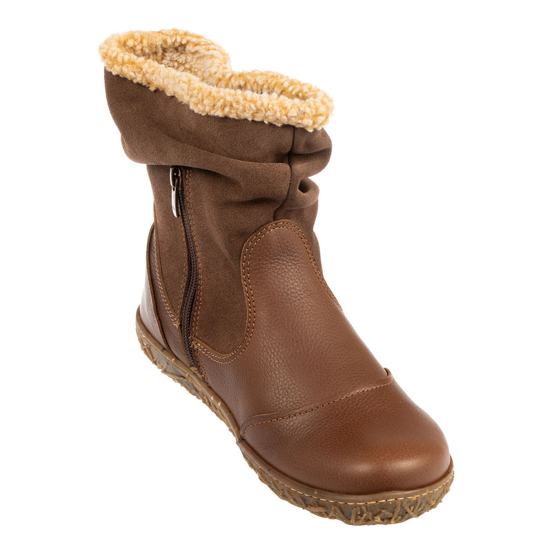 Women's Soft Grain-Lux Suede Boot