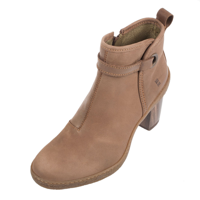 Women's Nf71 Lichen Leather Heel Ankle Boot
