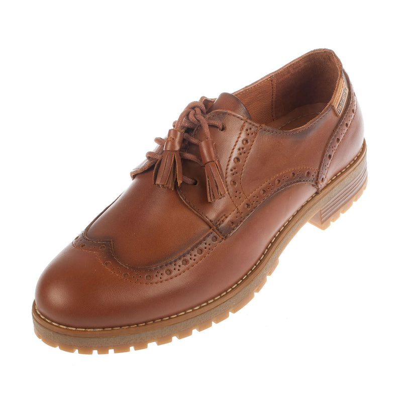 Santander Leather Lace Up Shoe