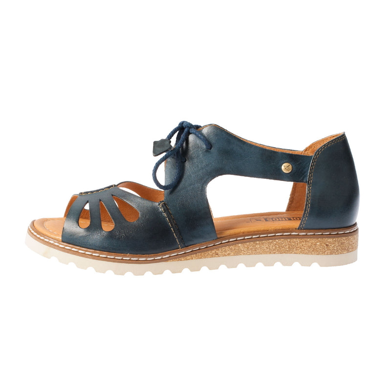 Women's Alcudia Lace Up Leather Sandal