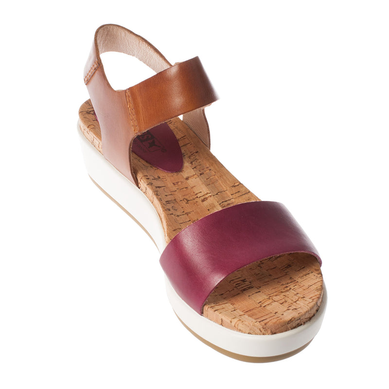 Women's Mykonos Platform Leather Sandal