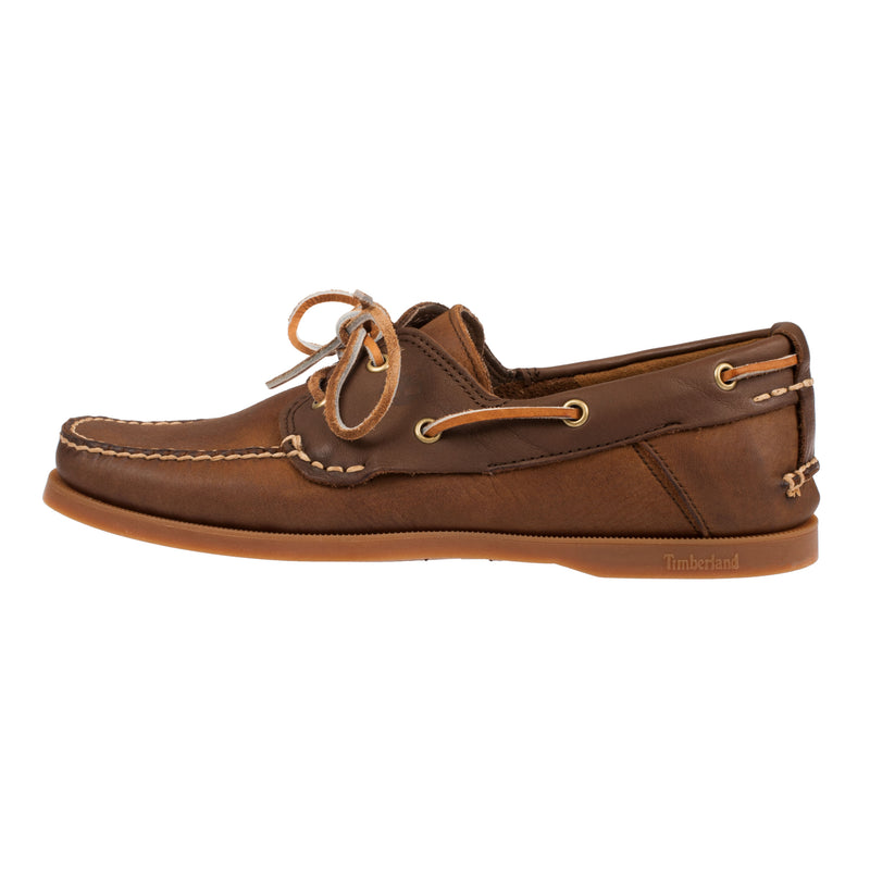 TIMBERLAND Men's Heritage Leather 2-Eye Boat Shoe (C6306A)
