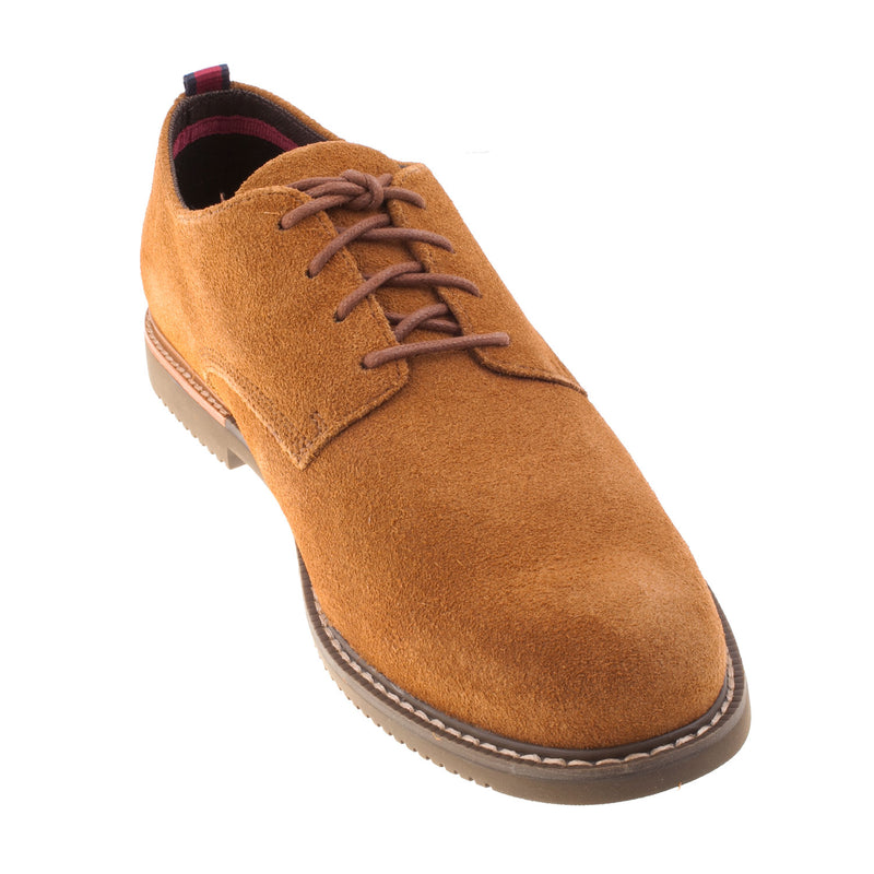 Timberland Men's Brook Park Oxford Rust Leather Shoe (9249B)