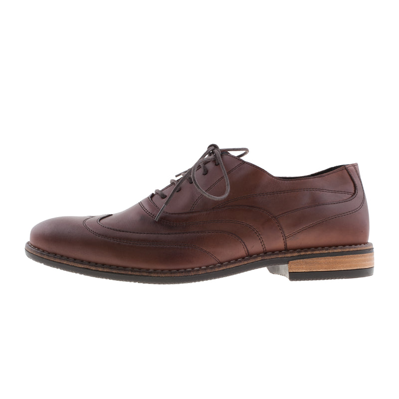 CLOUD 9 Men's Pittsburgh Leather Lace Up Brogue Shoe (9382)
