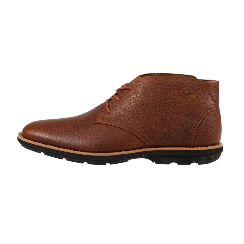 Timberland Men's Kempton Brown Leather Chukka Boot (A12BZ)