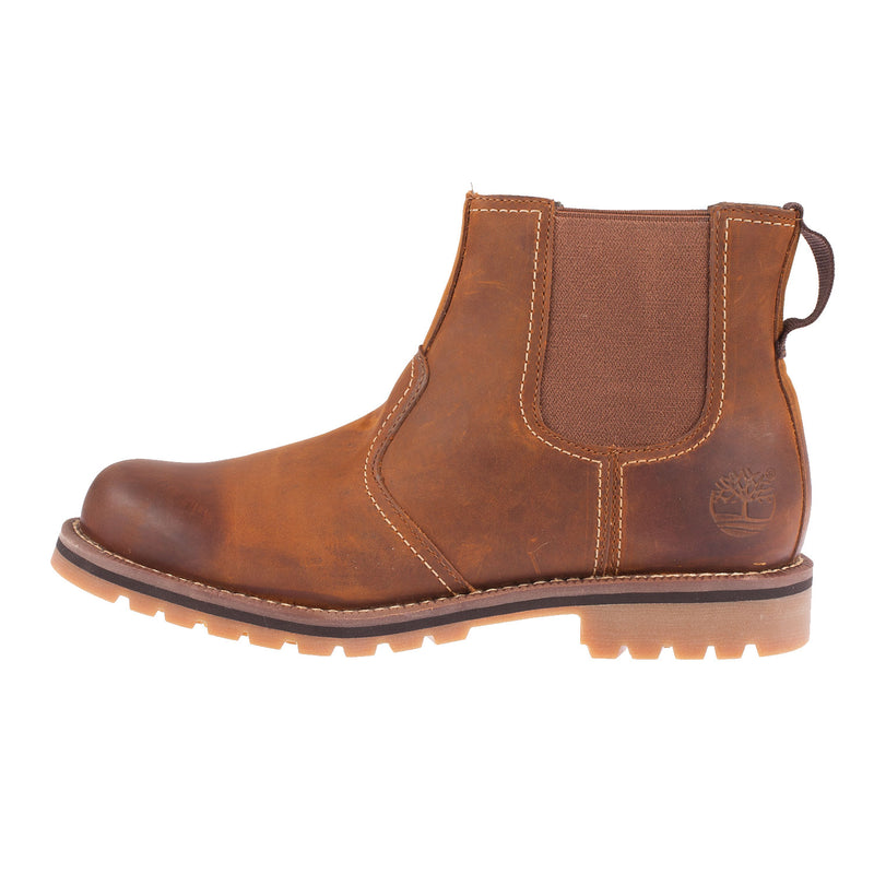 TIMBERLAND Men's Larchmont Brown Chelsea Boot (A13HZ)