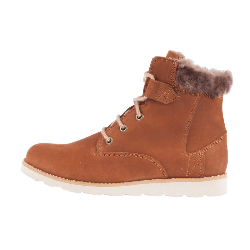 TBS Women's Anaick Faux Fur Ankle Boot