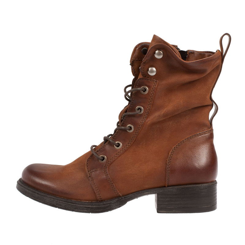 MJUS Women's Leather Lace Up Ankle Boot (185449)