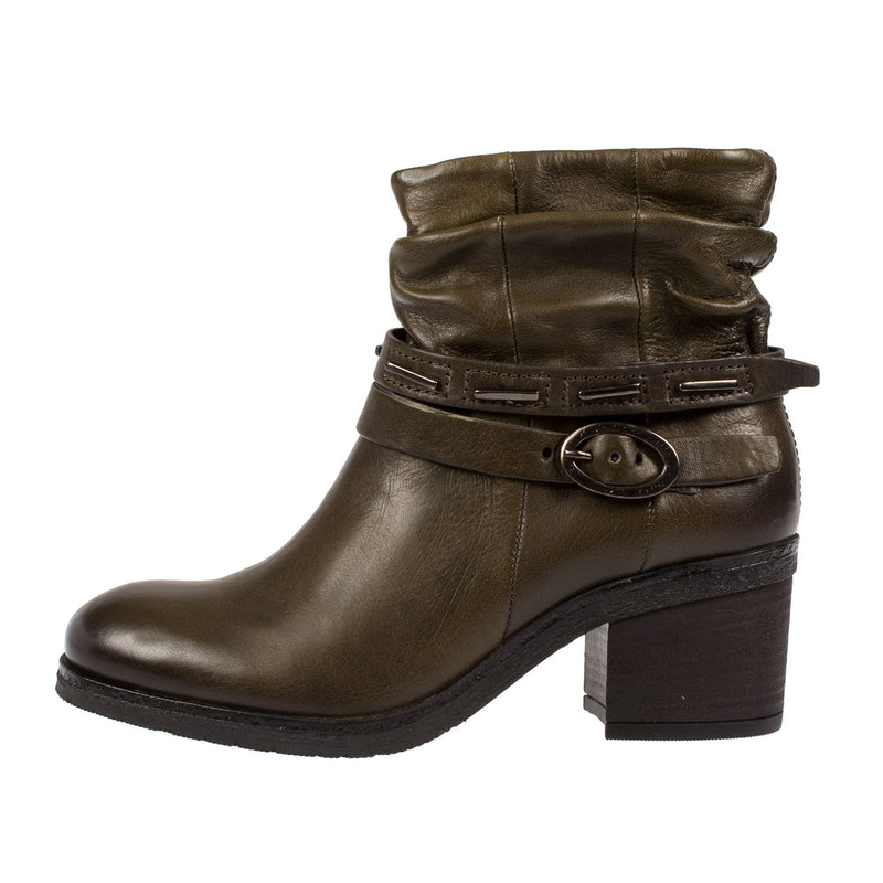Women's 214204 Leather Ankle Boot