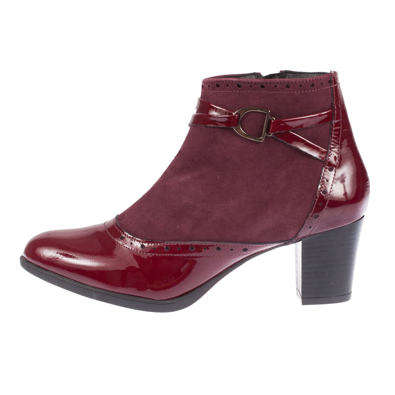 Women's Biaso Leather/Suede Ankle Boot
