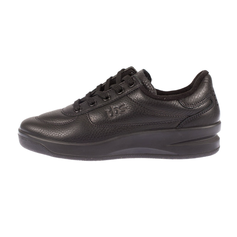 TBS Women's Brandy Leather Lace Up Trainer Style Shoe