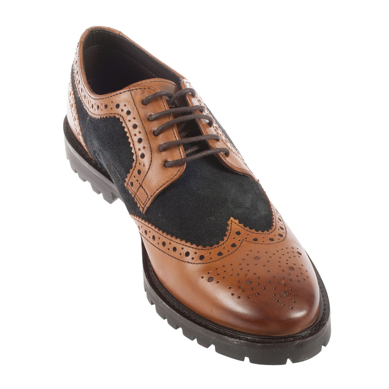 Men's Conflict Waxy/Suede Brogue