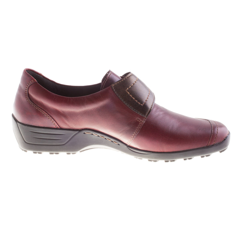 Women's D0527-35 Leather Velcro Shoe