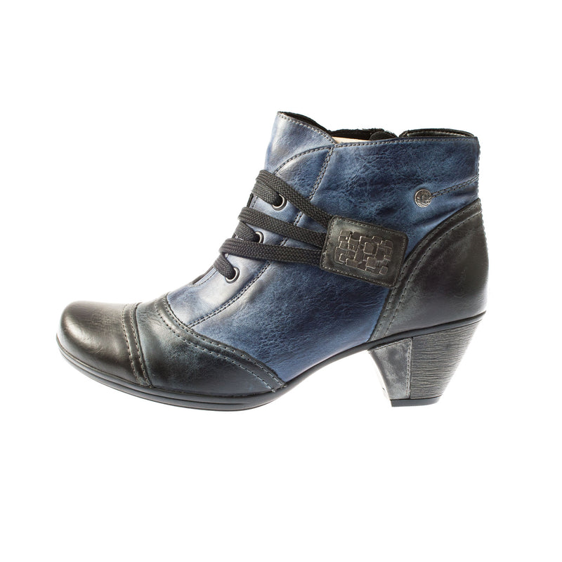 Women's D1297-14 Leather Ankle Boot