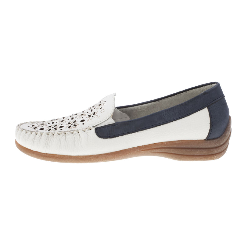 Women's D6211-80 Leather Loafer Shoe