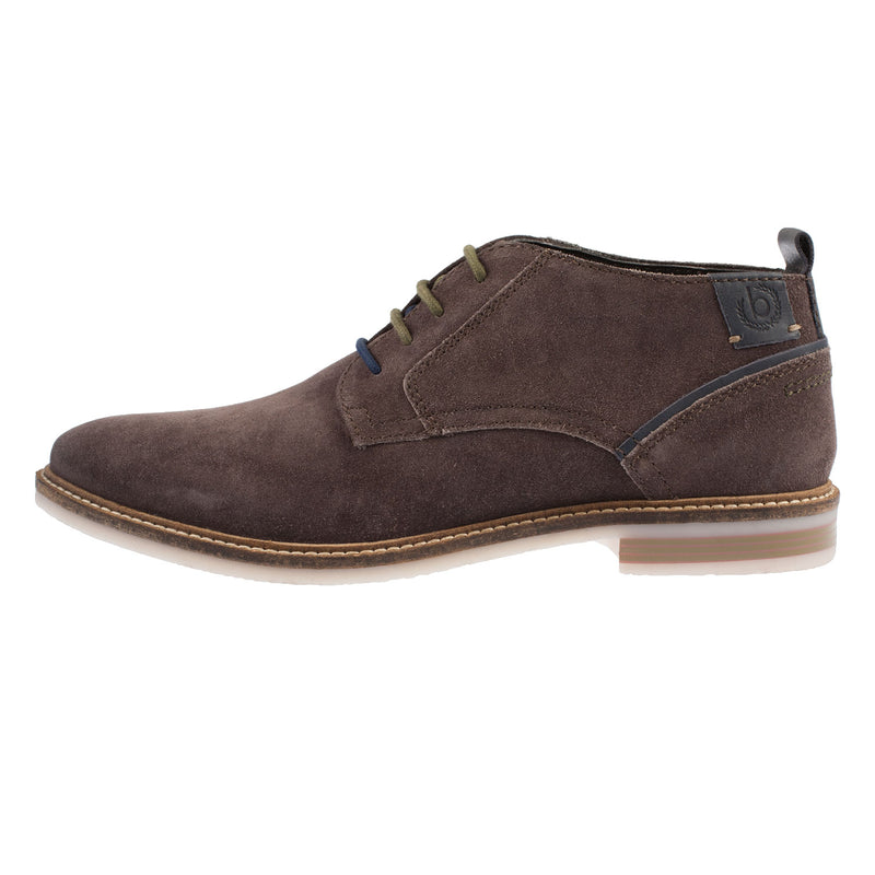 BUGATTI Men's Suede Lace Up Ankle Chukka Boot