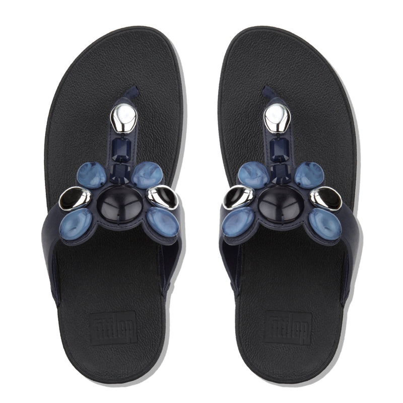 Women's Honeybee Jewelled Toe Thong Sandal