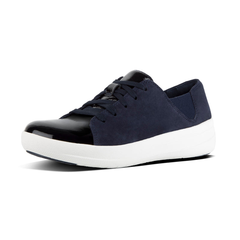 Women's F-Sporty Suede Mix Lace-Up Sneaker