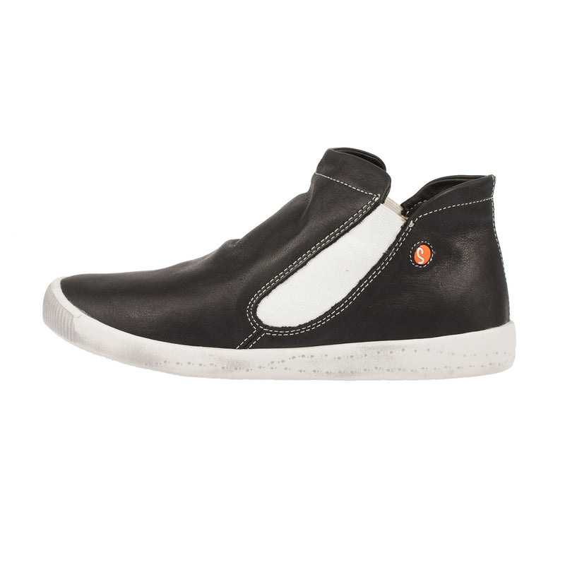 SOFTINOS Women's Inge Smooth Leather Trainer Style Shoe (P900086527)