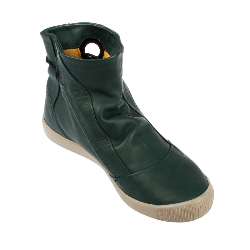 Women's Iris Smooth Leather Slip On Boot