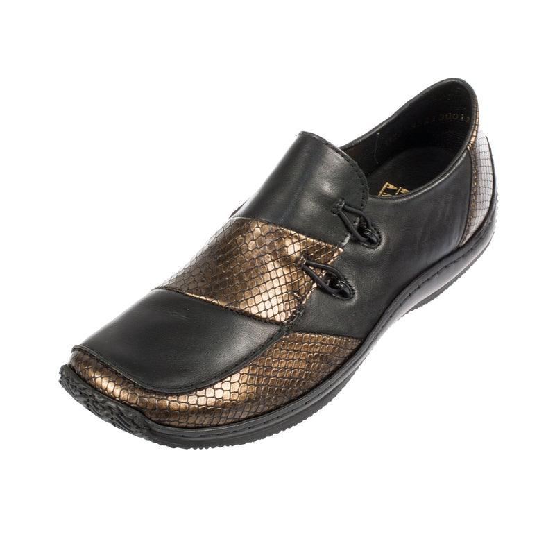 Women's L1762-25 Leather Slip On Shoe