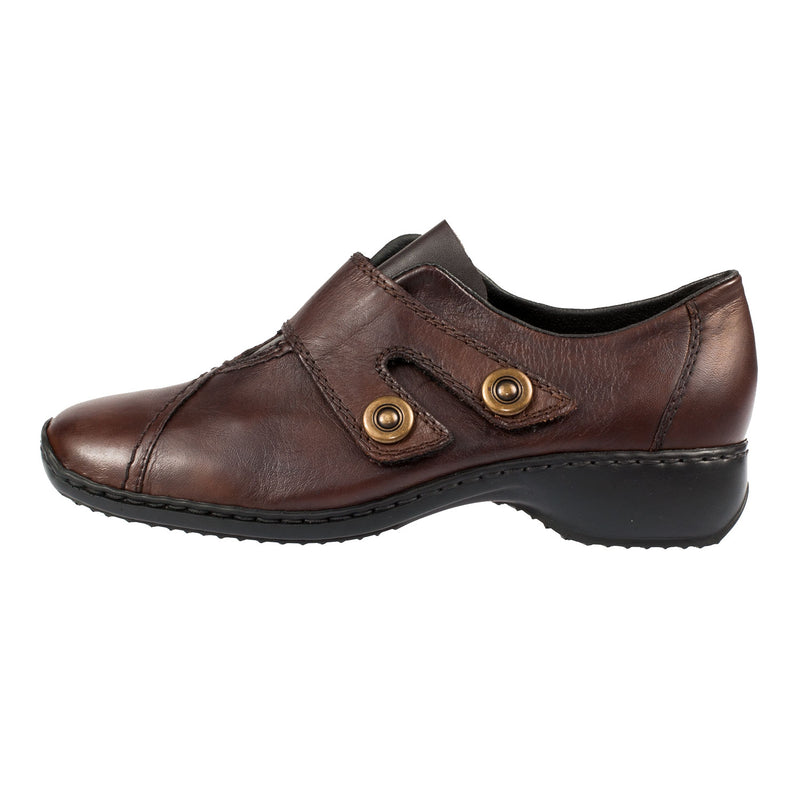 Women's L3868-26 Leather Velcro Shoe