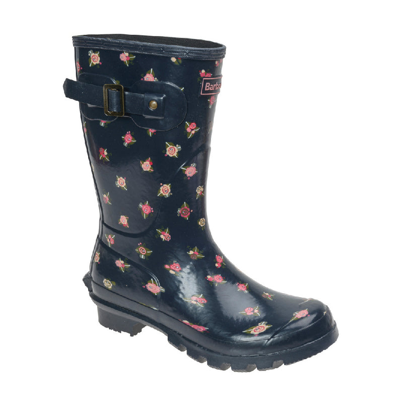 Women's Low Print Welly Boot