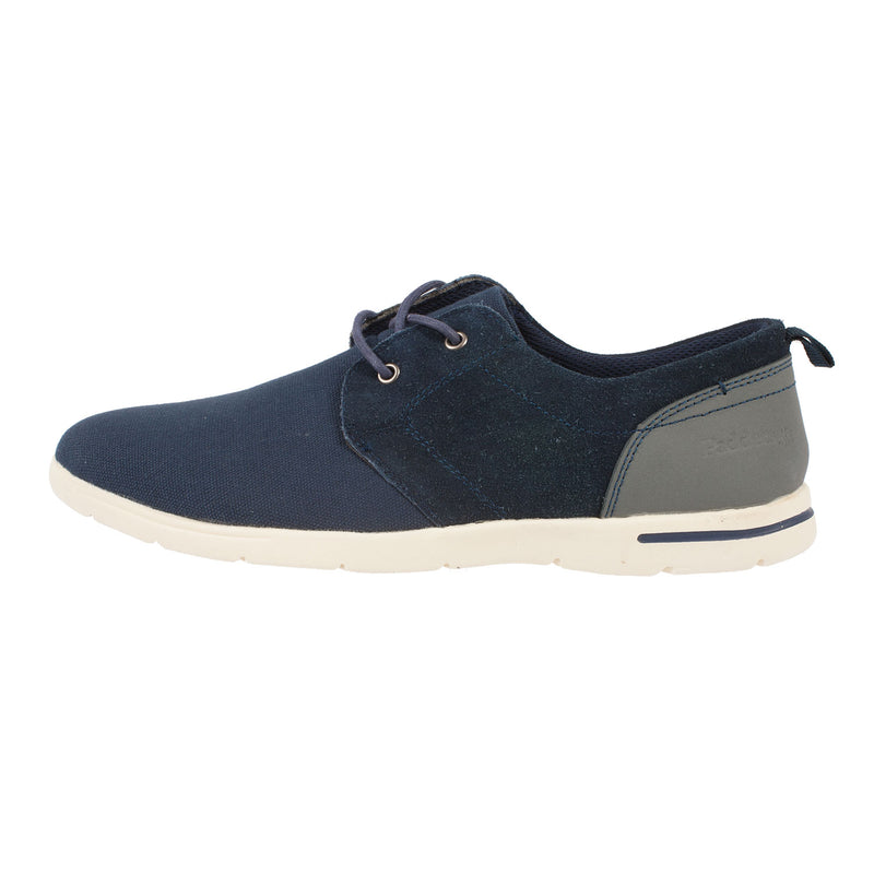 Men's Liam F Fit Canvas/Suede Shoe